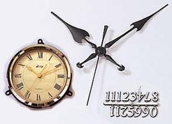 時計・飾り針・文字符