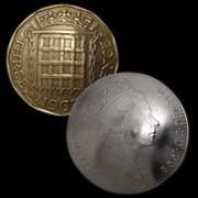オールドコインコンチョ(イギリス)