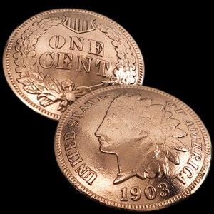 (アメリカ)インディアンセントコインコンチョ