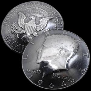 (アメリカ)オールドケネディコインコンチョ
