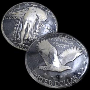 (アメリカ)スタンディングリバティコインコンチョ