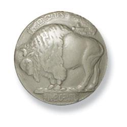 イミテーションのオールドコインコンチョ