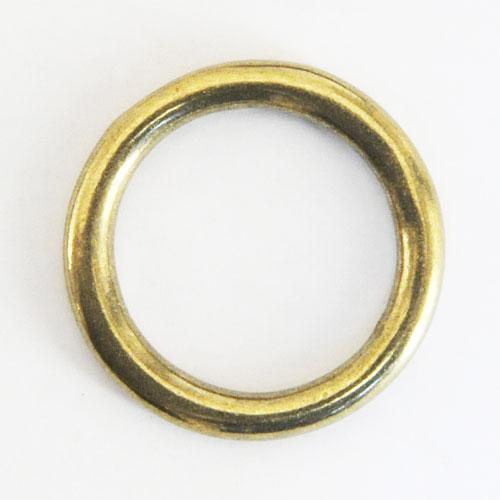 真鍮製イモノ丸カン