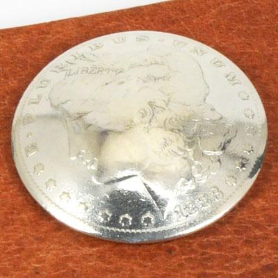 オールドモーガンコインコンチョ1878~1902年 サーキュレイテッド