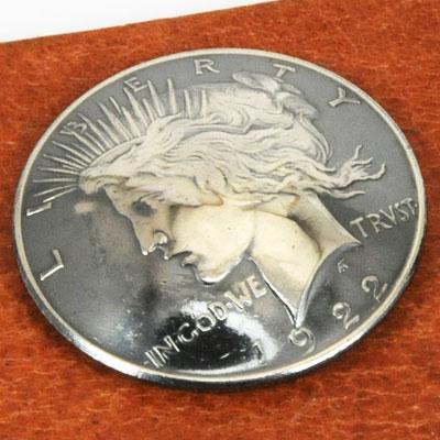オールドシルバーピースコインコンチョ1922~1927年