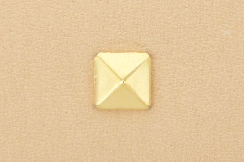 角ピラミッドカシメ<小>ブラス(10コ入り)