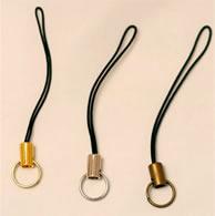 携帯ストラップ金具・リングの直径9mm