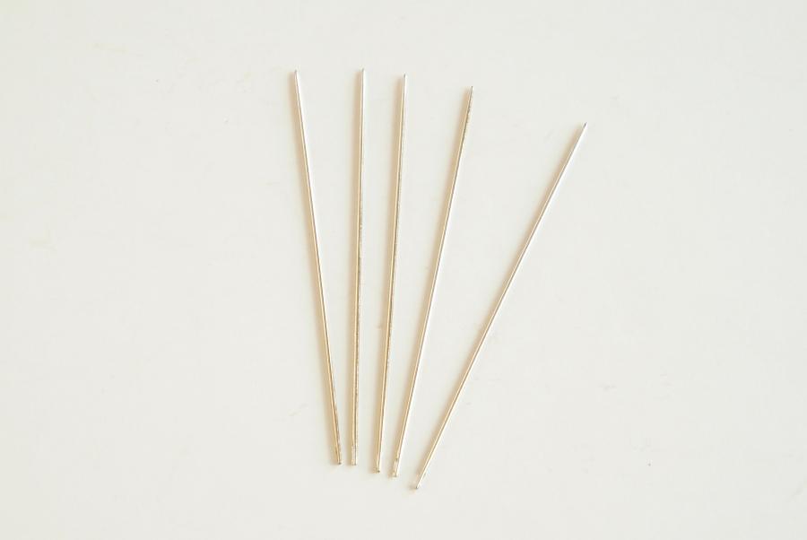 手縫針(丸針・極細)5本入