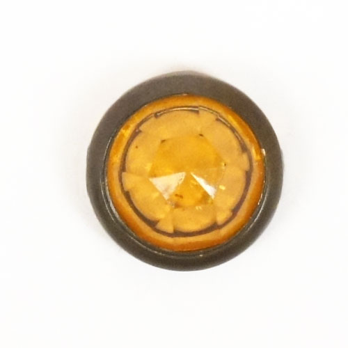 ハイドームアクリルスポッツ・ビンテージタイプ・レリックブラス枠(11mm)