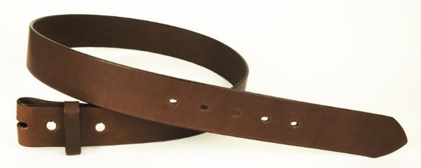 完成品ベルト<サドルレザー・スタンダード>シングルピン用・35L<巾3.4cm>