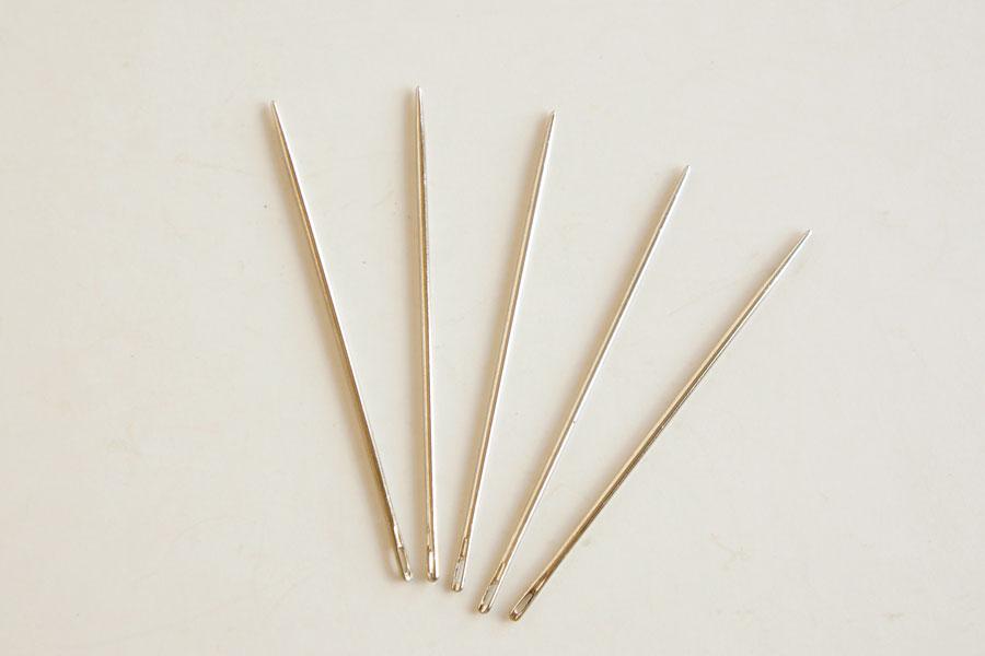 手縫針(丸針・短)5本入