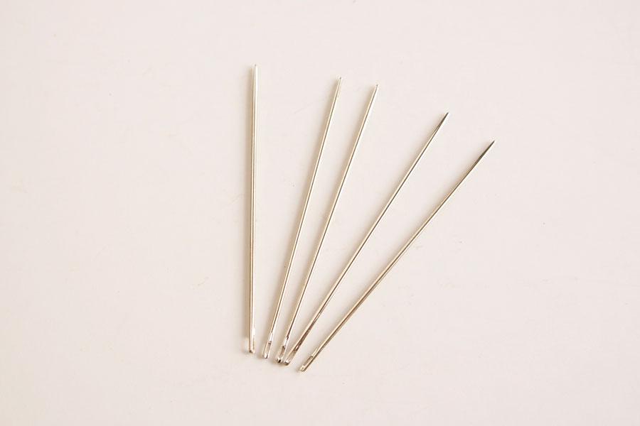 手縫針(丸針・長)5本入