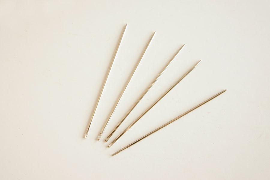 手縫針(丸針・極太)5本入