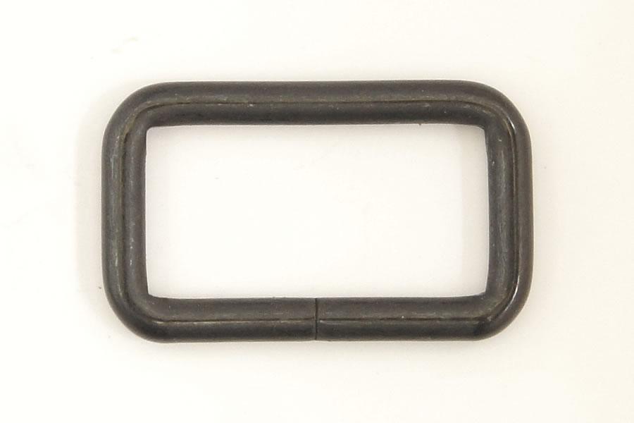 角カン(30 mm)ダールブラック 2コ