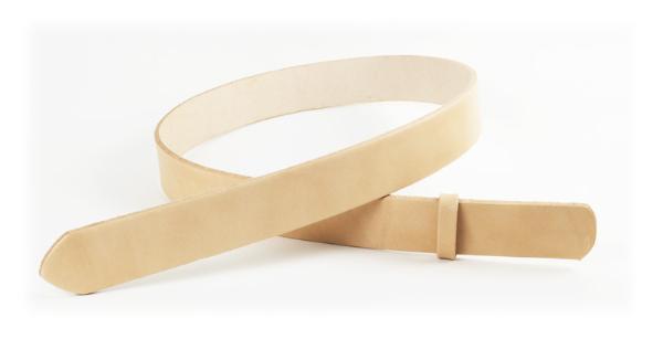 LC栃木ワイルドサドルレザーベルト(無地)・50L 長さ130cm<巾5.0cm(4.9cm実寸巾)>