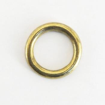 真鍮製イモノ丸カン(21mm)<ブラス>2コ