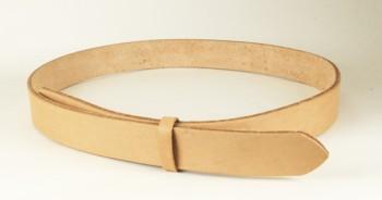 LCダブルショルダーベルト(ナチュラル)・25S 長さ105cm<巾2.5cm (2.4cm実寸巾)>