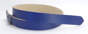 LCブルーサーファスレザーベルト・25L 長さ130cm<巾2.5cm(2.4cm実寸巾)>