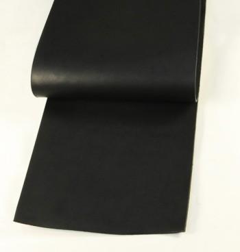 30 cm巾カット販売・LCサドルレザー・スタンダード・マット<ブラック>(35 デシ)