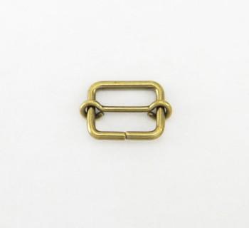 真鍮製線コキ(15mm)<ブラス>2コ