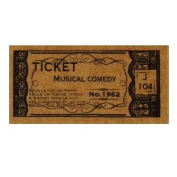 蚤の市スタンプ<コンサートチケット>