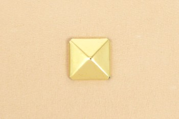 角ピラミッドカシメ<大>10コ入り<真鍮>