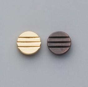 デザインカシメ(三筋カシメ)2コ