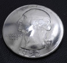 ワシントン コインコンチョ ボタンループ式