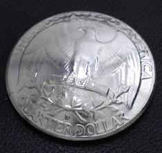ワシントンイーグル コインコンチョ ボタンループ式