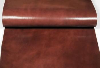 60 cm巾カット販売・LCサドルレザー・スタンダード・グレージング<ダークブラウン>(57 デシ)