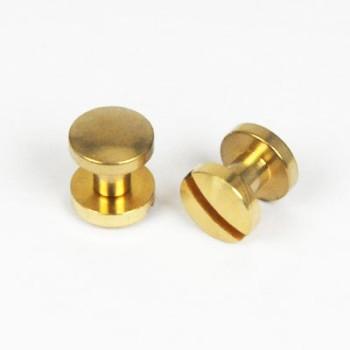 真鍮製組ネジ厚<10mm×6mm>ブラス2コ