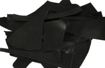スクラップレザー:サドルレザー(ブラック)(1.0mm前後)
