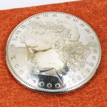 オールドモーガンコインコンチョ1921年 VFネジ式