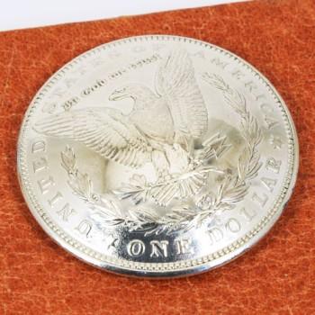 オールドモーガンコインコンチョ<イーグル>1921年<時価>VFネジ式