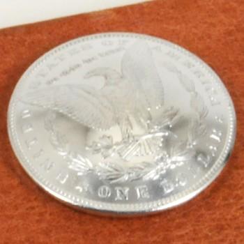 モーガンコインコンチョ<イーグル>1880-1889 BUネジ式(1889年)