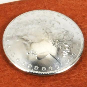 モーガンコインコンチョ1890-1899 BUネジ式(1899年)
