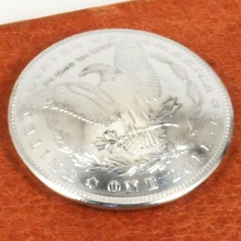 モーガンコインコンチョ<イーグル>1890-1899 BUネジ式