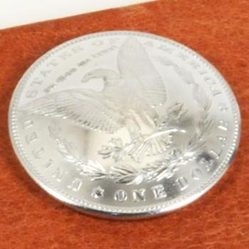 モーガンコインコンチョ<イーグル>1902 BUネジ式