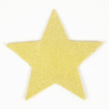 <ミンクル>レザーチャーム(スター)(5枚入り)