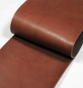 30cm巾カット販売・LCアメリカンオイルレザー<ダークブラウン> (27 デシ)