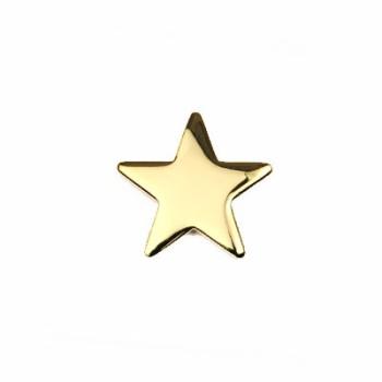 星カシメ16㎜ ゴールド(2個入り)