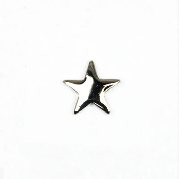 星カシメ12㎜ ニッケル(2個入り)