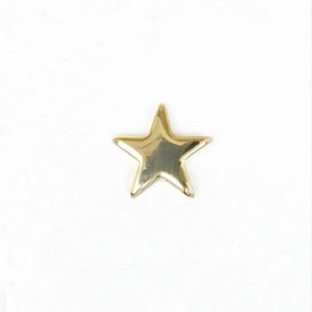 星カシメ12㎜ ゴールド(2個入り)