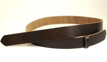 ホーウィン・クロムエクセルベルト・38Lウエスタンスタイル 長さ130cm<巾3.8cm(3.7cm実寸巾)>