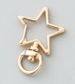 飾りキーホルダー (星)