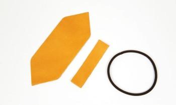 革のリボンキット<ポインテッド>・カラーヌメ革