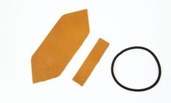革のリボンキット<ポインテッド>・ディアロ