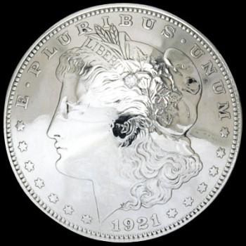 ダイヤモンド2mm1個入りオールドモーガンコインコンチョ1921ネジ式