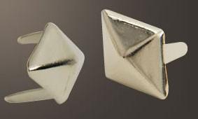 ダイヤモンドピラミッドスポッツ・ニッケル<16mm>