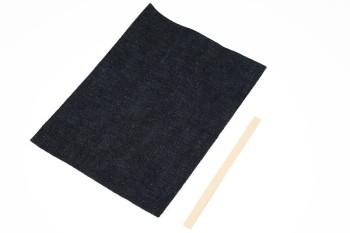 岡山デニム&Leather・ポケットティッシュケースキット・サドルレザー・スタンダード・マット(5セット入り)